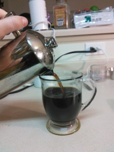 Step 8: Pour yourself a cup and savor caffeinated victory